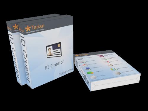 Terian ID Creator Application Box