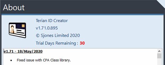 Terian IDC v1.71 Changelog