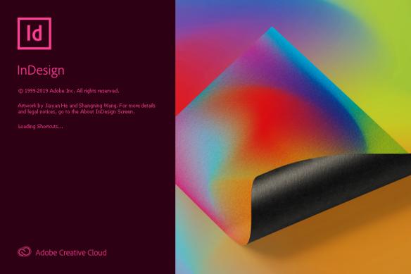 Adobe Indesign CC 2020 Splash Screen